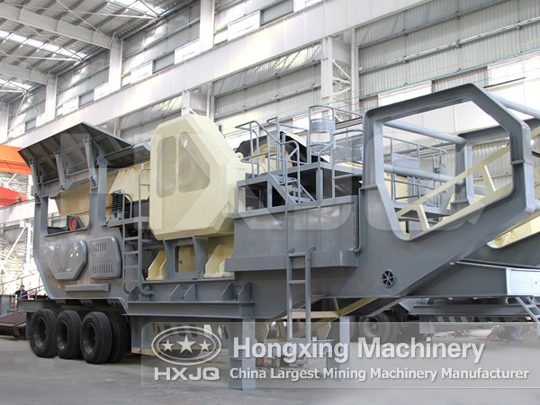 Construction Waste Mobile Crushing Station